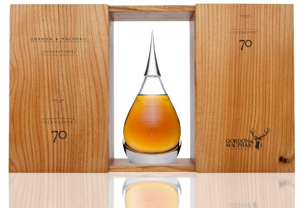 The Glenlivet 1940 70 year old 70cl Decanter with Wooden Box © Gordon & MacPhail