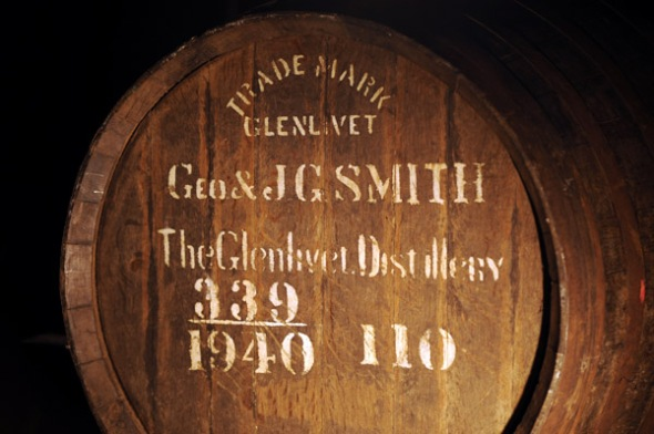 The Glenlivet cask © Colin Hampden-White