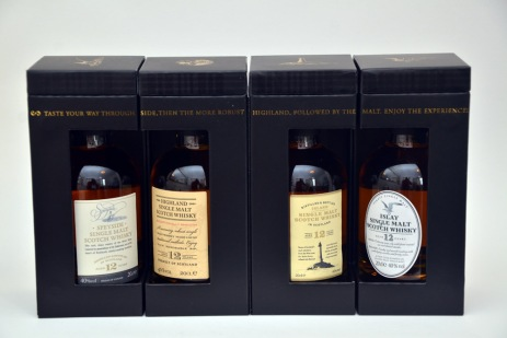 Marks and Spencer Four Scottish Malt Whiskies Box ©Colin Hampden-White