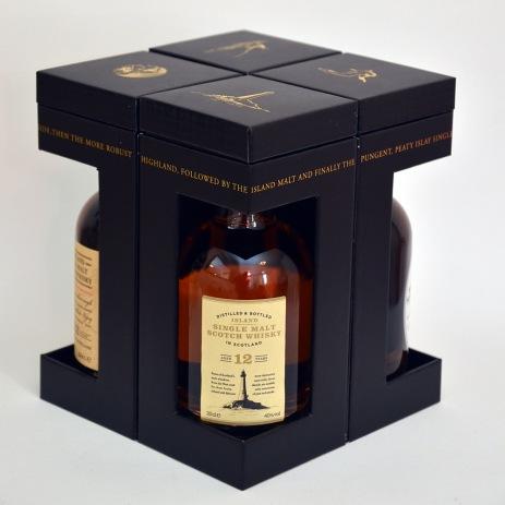 Marks and Spencer Four Scottish Malt Whiskies Box ©Colin Hampden-White