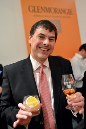 Dr William (Bill) Lumsden. In his role as Head of Distilling & Whisky Creation at Glenmorangie