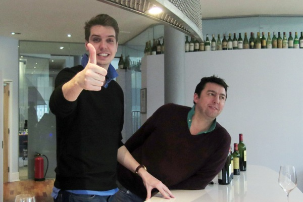Thumbs up from the tasting team at Farr Vintners Springbank 21 Yr old single cask ©Colin Hampden-White