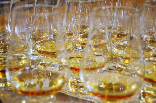 Whisky Glasses ©Colin Hampden-White